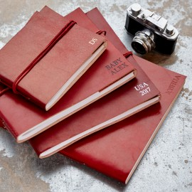 Fair Trade Full Cover Leather Photo Albums - Pre-Personalised