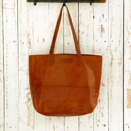 Leather Shopper Bag - Reworked