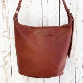Leather Tote Bag - Reworked