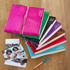 Personalised Full Cover 3 String Leather Photo Albums