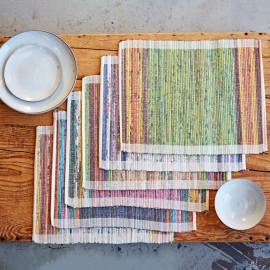 Recycled Newspaper Placemat