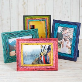 Recycled Newspaper Photo Frame