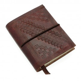 Mini Chocolate Embossed Notebook