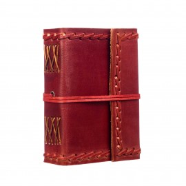 Small Stitched Leather Journal