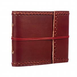 Small Stitched Leather Album