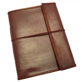 Extra Large Stitched Leather Album
