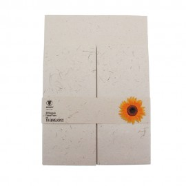 Eco Max A4 Sunflower Stationery Set