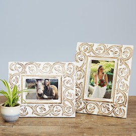 Taksa Mango Wood Photo Frame