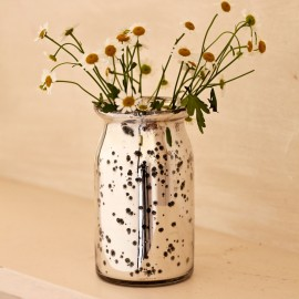 Antique Effect Glass Vase
