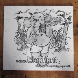 Elephant Dung Colouring Book