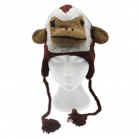 Monkey Woollen Animal Hat