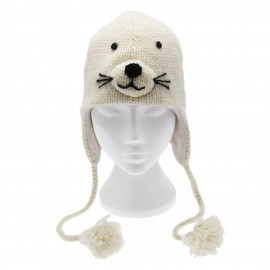 Seal Woollen Animal Hat