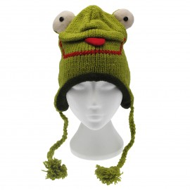 Froggie Woollen Animal Hat