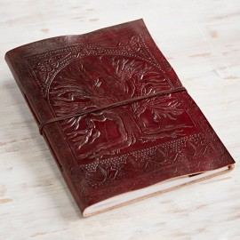 Fair Trade Tree Of Life Leather Album