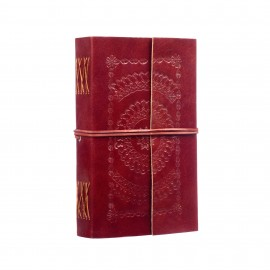Extra Large Embossed Leather Journal
