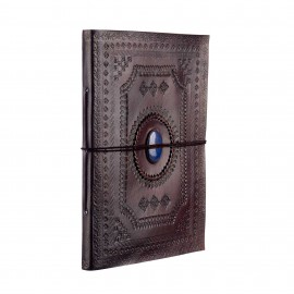 Indra XL Embossed Stone Leather Album