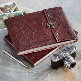 Indra Med Stitched Emboss Photo Album