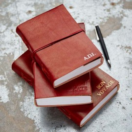 Personalised Full Cover Leather Journals