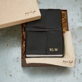 Antara Soft Black Leather Journal