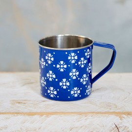 Yana Stainless Steel Mug Blue
