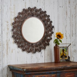 Zanie Copper Wire Mirror