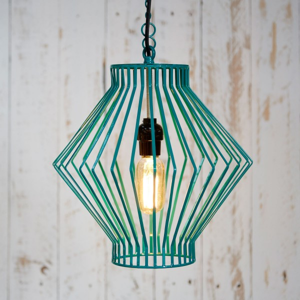 Asha Metal Wire Pendant Light | Paper High
