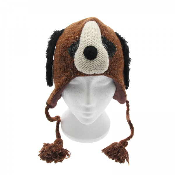 Handmade Woollen Puppy Dog Animal Beanie Hat  427d8e30d67e