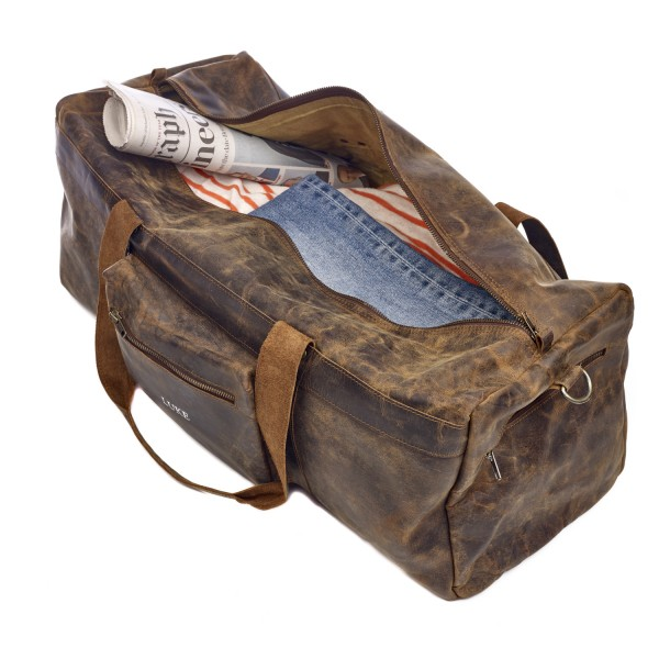 3a7a2e42732 Buffalo Leather Duffle Bag   Order Online Now   Paper High