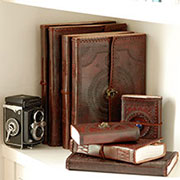 Leather journals and notebooks